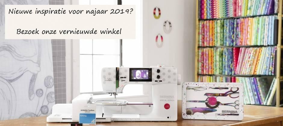 Bernina naaimachine 570 QE najaar 2019