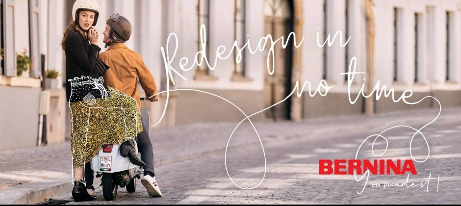 Bernina redesign in no time scooter