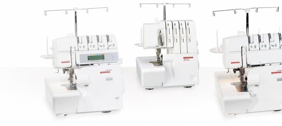 Bernina lockmachine 800dl